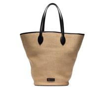 Mittelgroße Osa Handtasche aus Bast