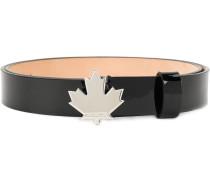 maple leaf buckle belt