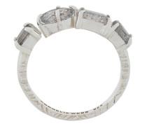 Slized round ring