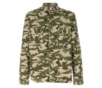 camouflage fitted shirt