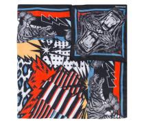 Halstuch mit Tiger-Print - men - Modal