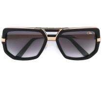 Vergoldete Oversized-Sonnenbrille