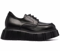 chunky sole lace-up shoes