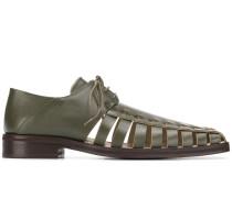 Derby-Schuhe mit Cut-Outs