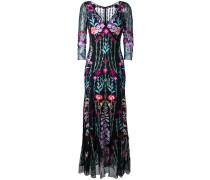 'Woodland' Kleid mit V-Ausschnitt