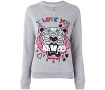 """Sweatshirt mit """"I love you""""-Print"""
