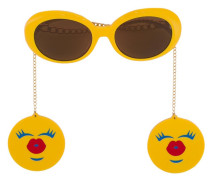 Runde Sonnenbrille - men - plastic