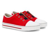 - Web detail canvas sneakers - kids