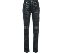Glitzernde 'Erosion' Jeans