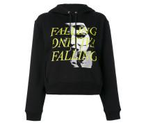 """Kapuzenpullover mit """"Falling""""-Print"""