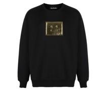 Sweatshirt mit Gesicht-Patch