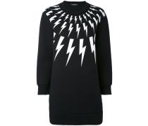 Sweatshirt mit Blitz-Motiven