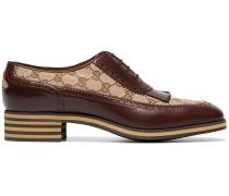 Oxford-Schuhe mit Fransendetail