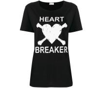 T-Shirtkleid mit Herz-Print