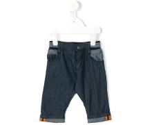 Jeans mit elastischem Bund - kids - Baumwolle