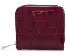 croc effect purse - women - Leder