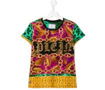 - T-Shirt mit Ketten-Print - kids - Baumwolle