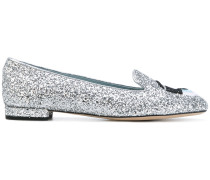 'Flirting' Slipper mit Glitzereffekt