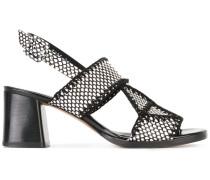 Proche sandals - women - Baumwolle/Leder - 37