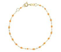 18kt yellow  Classic Gigi mandarine beaded bracelet