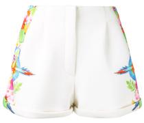 Shorts mit tropischem Print