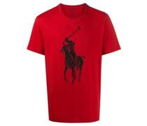 T-Shirt mit Big Pony