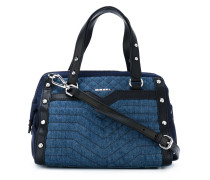 multi quilted tote bag
