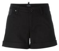 Shorts mit eingerolltem Saum