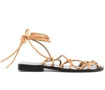 Sandalen mit Wickelriemen