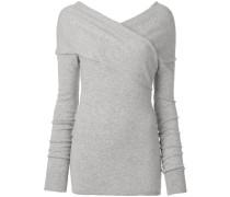 Pullover mit überkreuztem Design