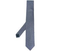 medallion crest tie