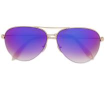 Pilottenbrille mit lila Gläsern - women