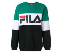 Colour-Block-Sweatshirt mit Logo