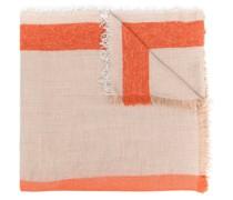 Schal mit Streifen-Print