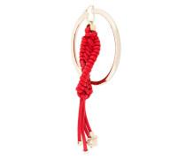 braided hoop earring