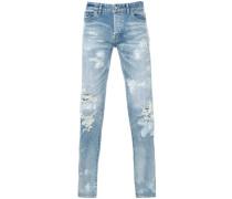 SkinnyJeans im UsedLook