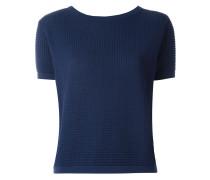 short sleeved knit top