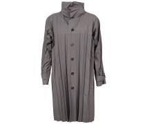 Plissierter Mantel