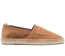 Espadrilles im Loafer-Stil