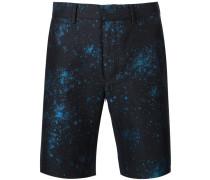 Jacquard-Shorts mit Taschen