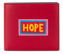 "Portemonnaie mit ""Hope""-Patch"