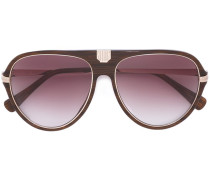Pilotenbrille mit Farbverlauf