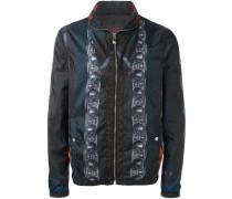 'Macro Plinth' Jacke mit Print