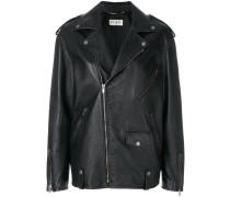 oversized zip jacket