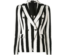 striped blazer - women - Baumwolle/Bemberg