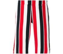 Schmale Shorts mit RWB-Streifen