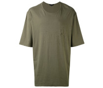 'Shotgun' Oversized-T-Shirt - men - Baumwolle