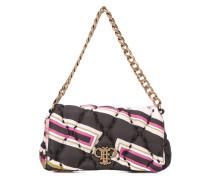 Gesteppte Handtasche mit geometrischem Muster