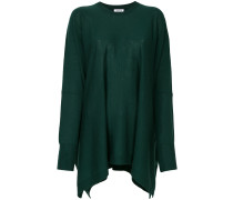 P.A.R.O.S.H. Oversized-Wollpullover mit zipfeligem Saum