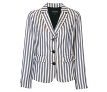 striped blazer jacket